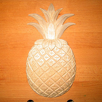 Pineapple in Relief